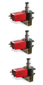 Cattini Yak - Air-hydraulic pit jacks